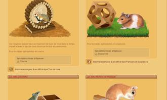 HamsterStory - Les defis rongeur